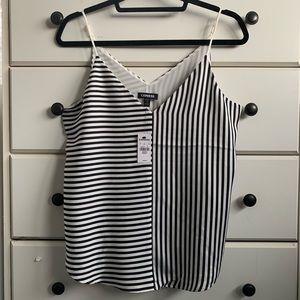 Express Tops - EXPRESS STRIPED CAMI - SIZE S